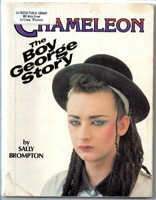 Chameleon: Story Of Boy George By Brompton, Sally Paperback Book The Cheap Fast • 12.99£