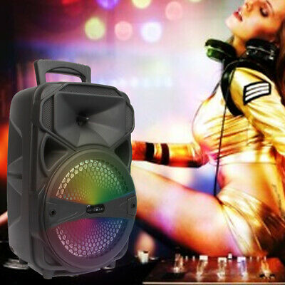 $38.99 • Buy 8  Portable FM Bluetooth Party Speaker Subwoofer Heavy Bass Sound System 1000W