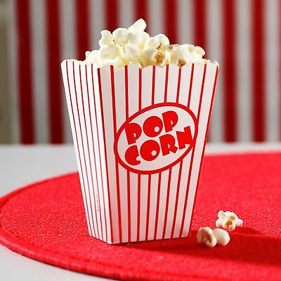 10 Popcorn Boxes Movie Hollywood Birthday Party Cinema Treats Paper Bags Fun • 3.29£