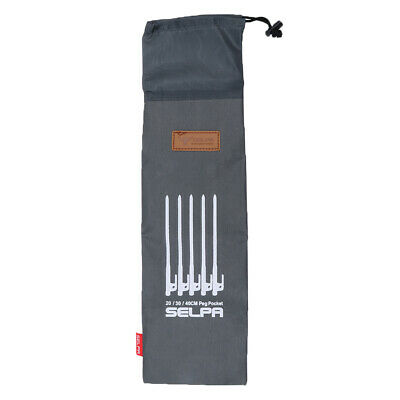 AU9.85 • Buy Outdoor Camping Tent Pegs Nails Storage Bag Hammer Pouch For 40cm Peg