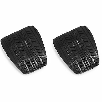 $9.99 • Buy 2 Fits Ford Mustang 94-04 Brake Or Clutch Pedal Pads Manual Transmission Pair