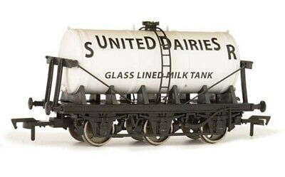 Dapol 6 Wheel Milk Tank SR United Dairies OO Gauge DA4F-031-027 • 16.86£
