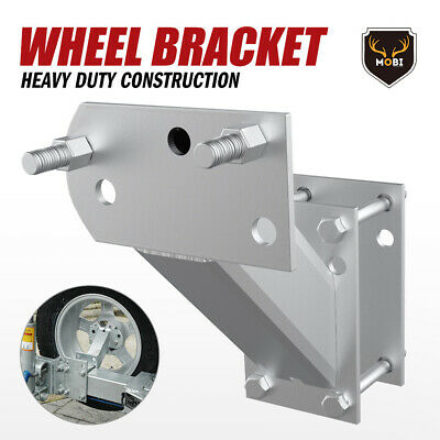 AU32.95 • Buy Spare Wheel Carrier Bracket Tyre Holder For Trailer Caravan Boat