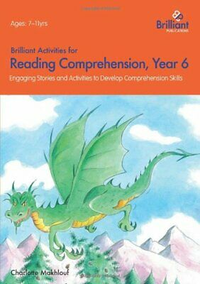 £13.99 • Buy Brilliant Activities For Reading Comprehension, Year 6... By Makhlouf, Charlotte