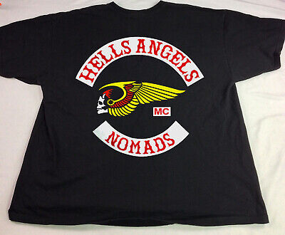 hells angels support shirts