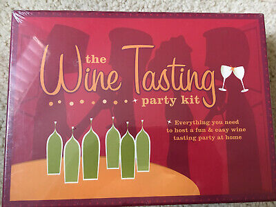 The Wine Tasting Party Kit: Everything You Need To Host A Wine Tasting Party NIB • 19.95$