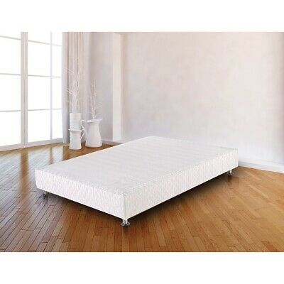 AU325.95 • Buy Bed Ensemble Frame Base With Knitted Fabric Cover - Bedroom Furniture