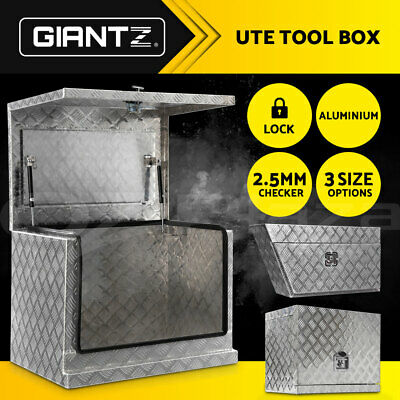 AU189.95 • Buy Giantz Ute Toolbox Generator Tool Box Aluminium Storage Truck Trailer Lock