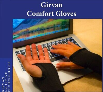$54.99 • Buy Girvan Comfort Gloves/Ergonomic Computer Wrist Support/Carpal Tunnel Syndrome