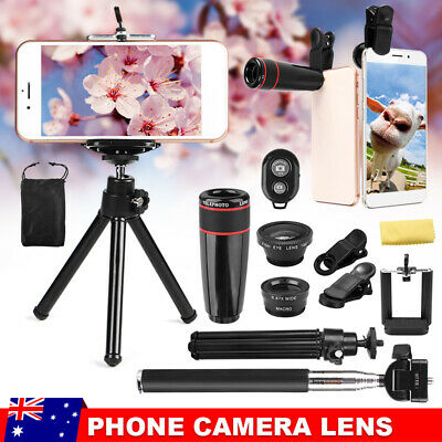 AU19.45 • Buy 8X All In 1 Accessories Phone Camera Lens Top Travel Kit For Mobile Smart Phones