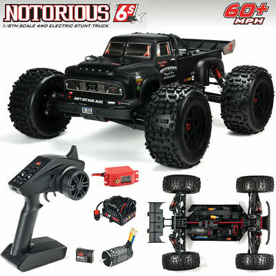 New Arrma 2020 1/8 Scale Notorious 6S BLX Truggy RC Truck RTR Ready To Run Black • 393.38£