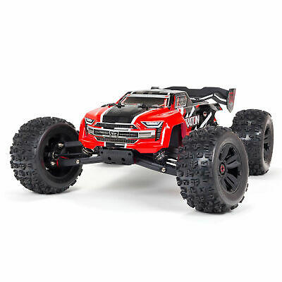 Arrma 1/8 Scale KRATON (2021) 6S BLX 4WD Brushless Speed Monster Truck RTR : Red • 407.69£