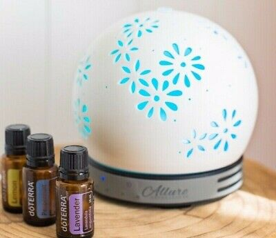 AU105 • Buy Ultrasonic Ceramic Diffuser Aroma Mist Essential Oil LED Humidifier Aus Seller