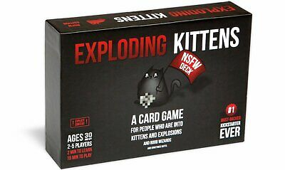 AU49.99 • Buy Exploding Kittens Card Game: NSFW Edition - Explicit Content Adults Only 30 & Up