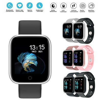 View Details Fitness Smart Watch Activity Tracker Women Men For Fitbit Android IOS Heart Rate • 21.99£