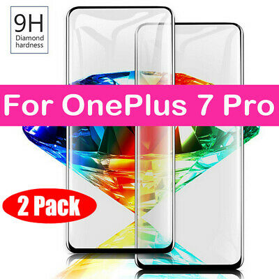 AU2.86 • Buy For OnePlus 7 Pro 6T 6 5T 5 3T Full Cover Tempered Glass Screen Protector 1+ Sl