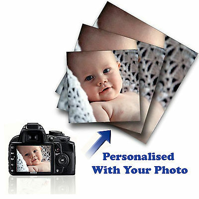 Large Personalised Framed Canvas Print Photo Image Picture - Ready To Hang • 5.99£