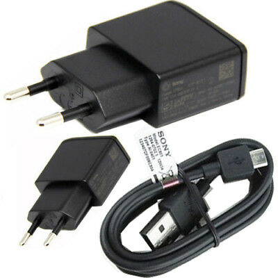 £2.45 • Buy  Sony Ep800 2-pin Eu Travel Adapter Mains Charger  + Micro Usb Cable