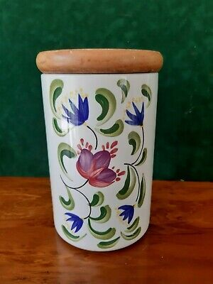 Portmeirion Welsh Dresser  Storage Jar   Designed By Anghared Menna • 12.50£