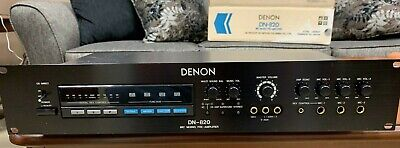 $325 • Buy Denon DN-820 Karaoke Mic Mixer Pre Amp W Pitch And Echo RACK MOUNT  NEW IN BOX