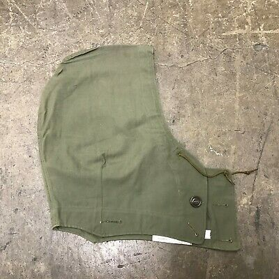 $35 • Buy NOS VINTAGE US ARMY HOOD ATTACHMENT M-1951 FIELD JACKET (M-51) Size Small U-91