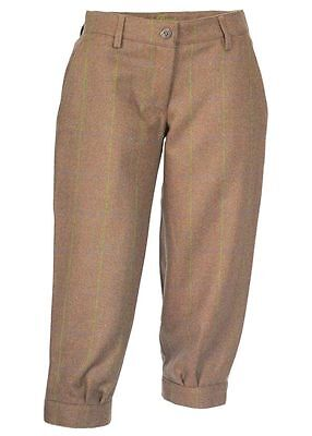 Laksen Ladies Tyne Tweed Shooting Breeks Size 12 • 120£