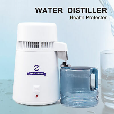 £54.99 • Buy 4L Stainless Steel  Water Distiller Pure Water Filter Purifier Medical Home Labs