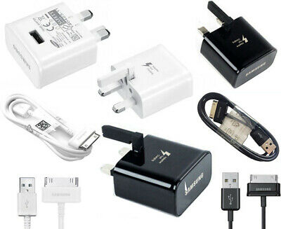£7.45 • Buy Samsung USB Data Cable Charger For Galaxy Tab 2 Tablet 7  8.9 10.1  P5110 + Plug