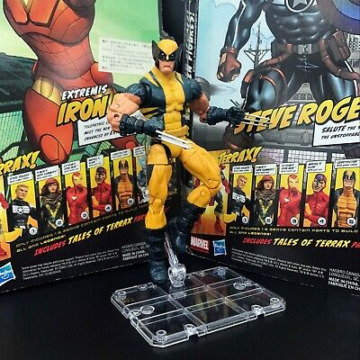 $17.99 • Buy Marvel Legends Wolverine Logan Yellow Puck Series With Stand 6  Figure Loose