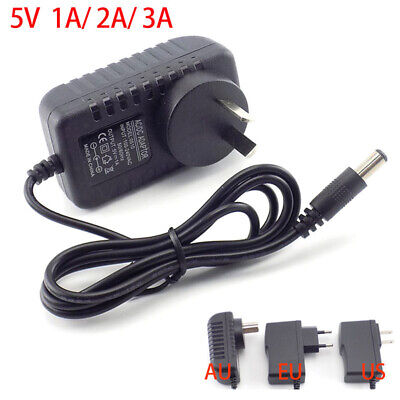 AU4.28 • Buy AC/DC Power Supply Adapter Charger 5V 1A 2A 3A For LED Strip Light CCTV Camera