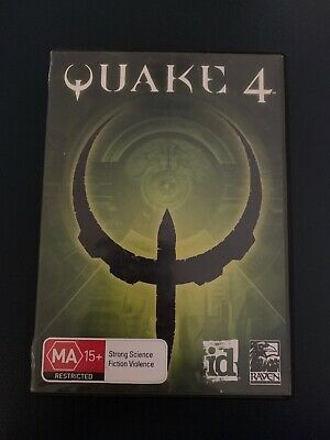 AU16.50 • Buy Quake 4: DVD Edition PC DVD-ROM (2005) Complete With Manual