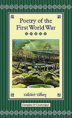 Poetry Of The First World War (Collectors Library), Clapham, Marcus, Very Good • 4.99£