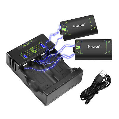 $19.69 • Buy Dual Charging Dock Station Controller Charger W/ 2x Battery Packs For Xbox One