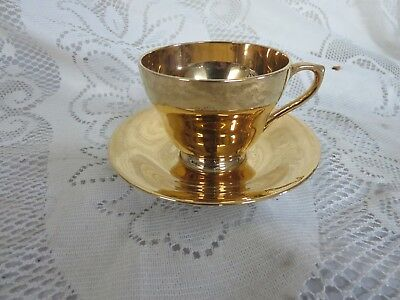 $ CDN25.32 • Buy Vintage Royal Winton Grimwades Gold Cup & Saucer