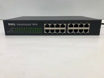 $39.99 • Buy Dell Power Connect 2016 - 16 Port Managed Network Switch