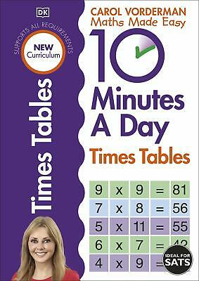 £6.44 • Buy 10 Minutes A Day Times Table Made Easy Wo By Carol Vorderman New Paperback Book