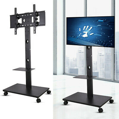 Exhibition Display Stand Mobile TV Trolley Floor Stand Mounting Bracket 32-70  • 61.58£