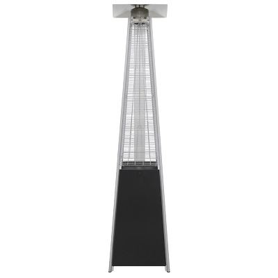 Dellonda Freestanding Gas Pyramid Patio Heater Outdoor Garden Glass Tube 13kW • 209.99£