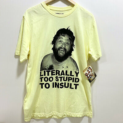 The Hangover Alan T-Shirt Size M Literally Too Stupid To Insult New With Tags • 13.58£