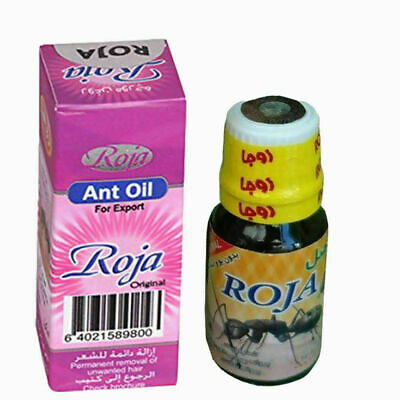 Roja Ant Egg Oil For Permanent Unwanted Hair Removal 60 Days • 20.99£
