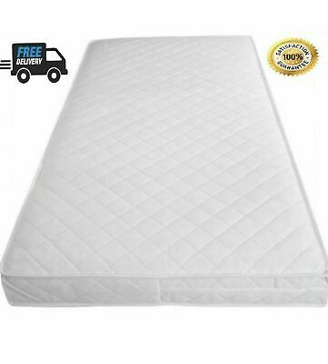 £42.99 • Buy Baby Toddler Cot Bed Quilted & Waterproof Breathable Soft Mattress 160x80x13 (10