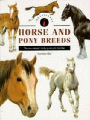 £5.49 • Buy Horse And Pony Breeds (Identifiers S.) By Ball, Caroline Hardback Book The Cheap