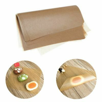 £5.39 • Buy 50Pcs Brown Wax Tissue Paper Wedding Xmas Candy Sweets Food Gift DIY Wrapping