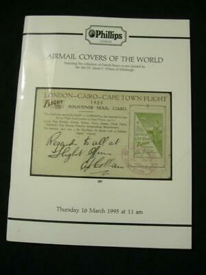 £4.99 • Buy Phillips Auction Catalogue 1995 Airmails Of The World 'wilson' Collection