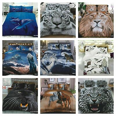AU26.48 • Buy 3D Amazing Duvet Bed Quilt Cover Set Single Double King & Super King 2019 Design