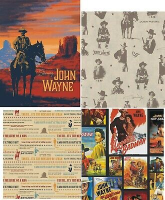 $5.75 • Buy Fabric John Wayne~Riley Blake Collection - BHY