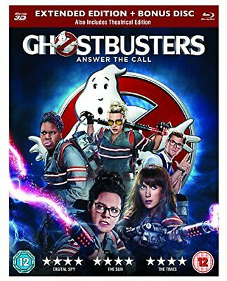 £4.17 • Buy Ghostbusters (Blu-ray 3D) [Region Free] - DVD  0IVG The Cheap Fast Free Post