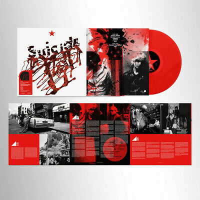 £20.99 • Buy SUICIDE SUICIDE LIMITED EDITION RED VINYL LP (Released July 12th 2019)