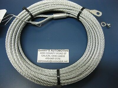 $57 • Buy Warn 15236 Wire Rope Cable Replacement 3/16 50' A2000 A2500 ATV Quad Winch