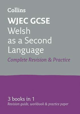 £11.27 • Buy GCSE Welsh Second Language Grade 9-1 WJEC Complete Practice And Revision Guide W